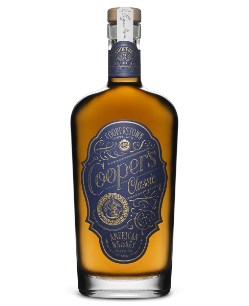 American Whiskey, Cooper's Classic, Cooperstown Distillery $42