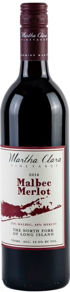 Malbec Merlot, Martha Clara Vineyards $30