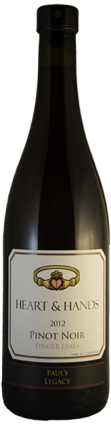 """Paul's Legacy"" Pinot Noir, Heart & Hands $44"