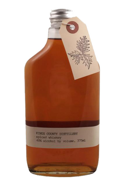 Spiced Whiskey, Kings County Distillery $29